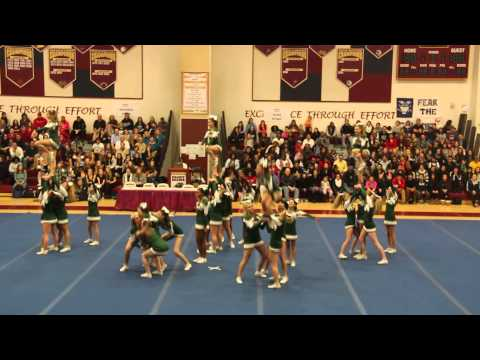 Damascus High School Cheerleading Competition - January 2015