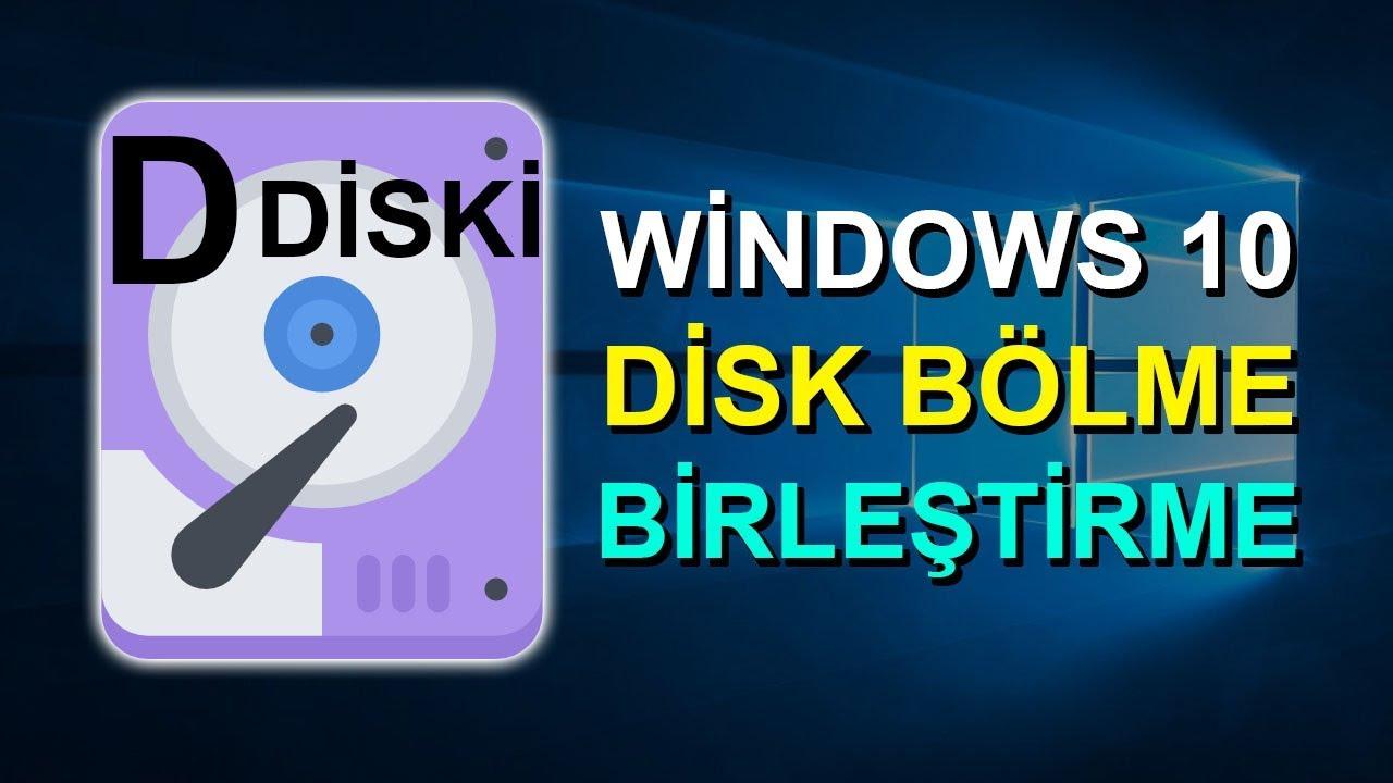 Disk Genişletme Aktif Değil: Windows 10 Disk Genişletme (C Diskini Genişletme)