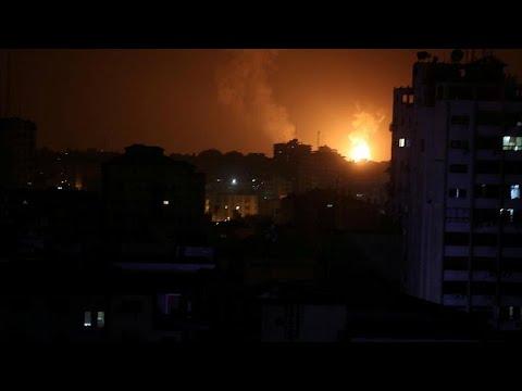 Israël bombarde des positions du Hamas à Gaza