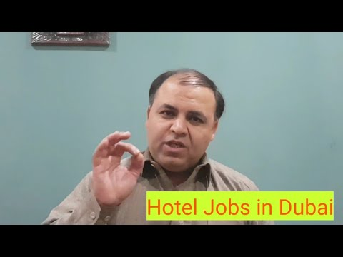 Dubai Latest Hotel Jobs for Everyone