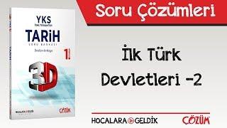 3D Soru Bankası İlk Türk Devletleri 2 Soru Çözümleri
