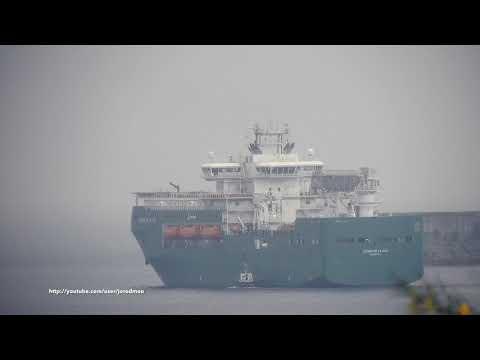 Flotel CERRO DE LA PEZ departs Ferrol