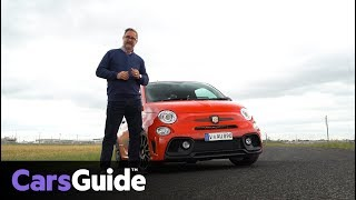 Abarth 595 2018 review: first drive video