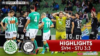 Highlights: tipico Bundesliga, 7. Runde: SV Mattersburg - SK Sturm Graz 3:3