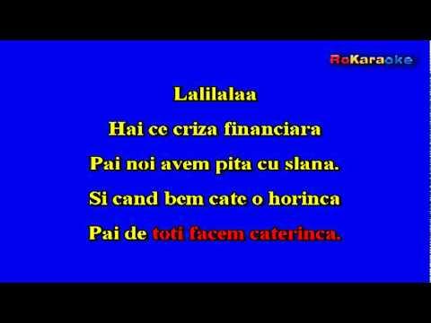 LORENA-Criza financiara NEGATIV KARAOKE