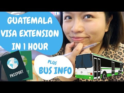 GUATEMALA VISA EXTENSION (2020) | BUSES FROM XELA | DIM SUM IN GUATEMALA CITY | GUATEMALA | EP. 65