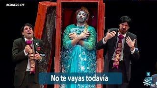 Chirigota No te vayas todavía | Final 2017