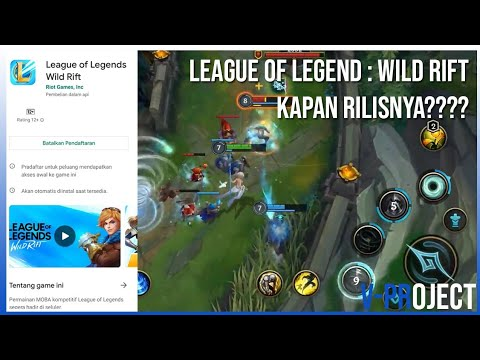 League Of Legends Wild Rift Tanggal Rilis