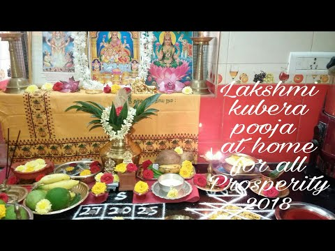 Kubera Lakshmi pooja/Tamil New year pooja/Akshaya tritiya pooja/வளம் தரும் லக்ஷ்மி குபேர பூஜை