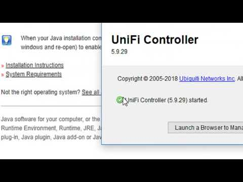 Restore Unifi Controller Backup - YouTube