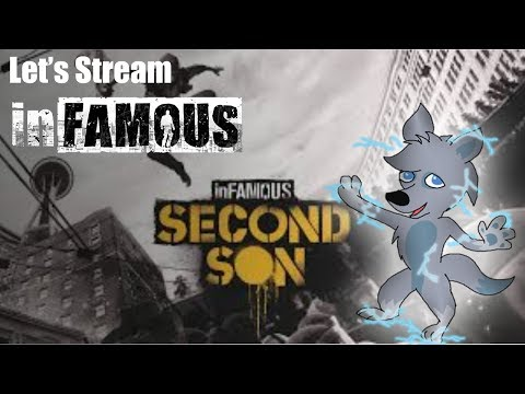PREVIOUSLY LIVE: Playing inFAMOUS: Second Son! (via Twitch)