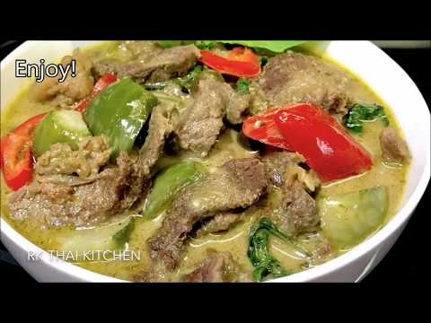 beef with green curry