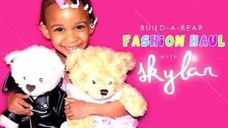 Fashion Haul | Skylar's Build-a-bear Collection