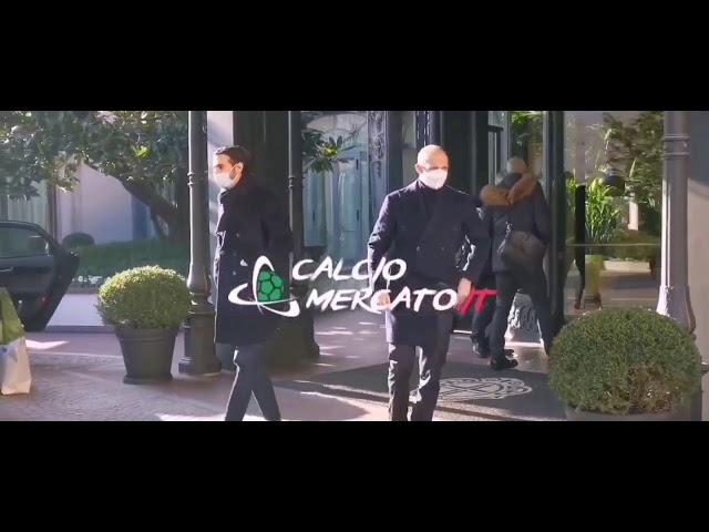 Allegri-Roma: il tecnico nell'hotel di Tiago Pinto | VIDEO CMIT