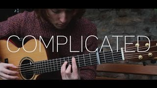 Avril Lavigne - Complicated - Fingerstyle Guitar Cover - With Tab