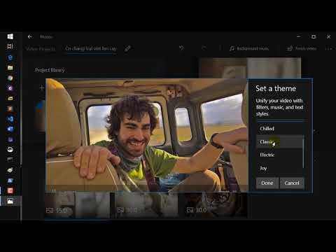 Cách ghép nhạc vào ảnh làm video trên máy tính không cần cài đặt thêm phần mềm