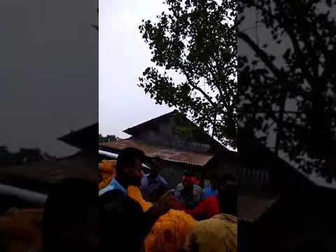 তপন ঘোষকে নিয়ে উন্মাদনা রায়গঞ্জের রাড়িয়া গ্রামে  Hindu leader Tapan Ghosh