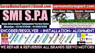 SMI SPA SML Arab GCC Servo Motor Drive Encoder Dubai Resolver Align Repair India UAE Oman KSA