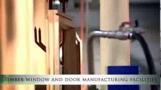 Автоматизированная технология покраски деревянных окон Megrame timber windows(Автоматизированная технология покраски деревянных окон. Слаженность процесса производства обеспечивает..., 2013-08-25T07:18:19.000Z)