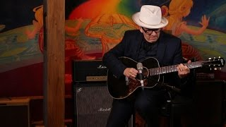 "Elvis Costello performs ""Everyday I Write The Book"""