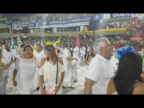 Lavagem da Sapucaí para o Carnaval 2018