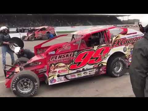 RPW SDW 2018 - Larry Wight Lap 127 Pit Stop Billy Whittaker Cars 200