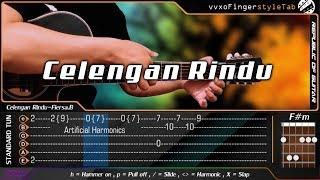 Gambar cover Fiersa besari - Celengan rindu - Fingerstyle Guitar Cover + TABS Tutorial