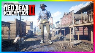 Playing Red Dead Redemption 2 But Arthur Morgan Is GIANT! (20x BIGGER)