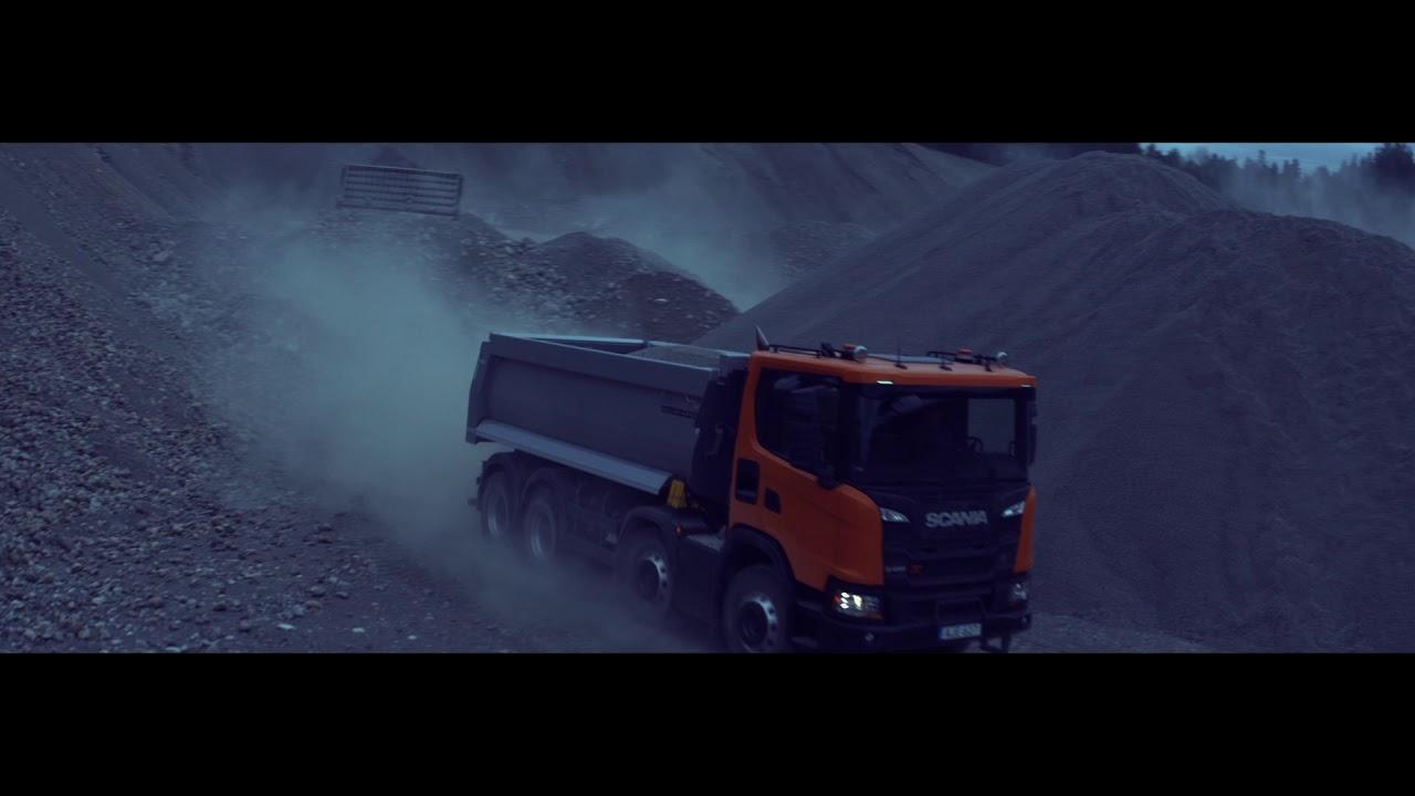 Scania серія XT  – для важких умов експлуатації