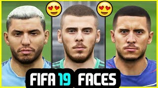 19 NEW FIFA 19 PLAYER FACES ONLY AVAILABLE ON PC