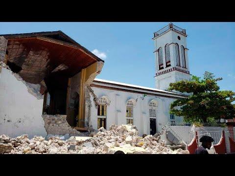 At least 29 dead as earthquake strikes Haiti