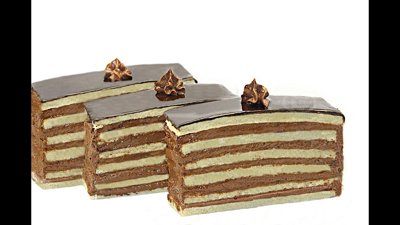 Reteta Prajitura dobos | Dobos cake - Adygio Kitchen