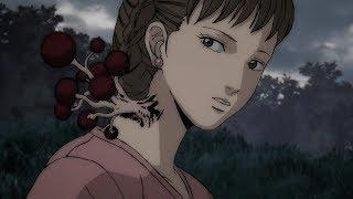 """【宇哥】女孩伤口处长了棵""""果树"""",她决定摘一颗尝尝味道……《伊藤润二惊选集:血玉树》"""