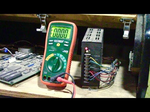 How to test and adjust Arcade Power Supply voltages