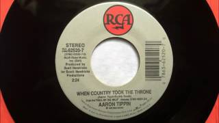 Watch Aaron Tippin When Country Took The Throne video