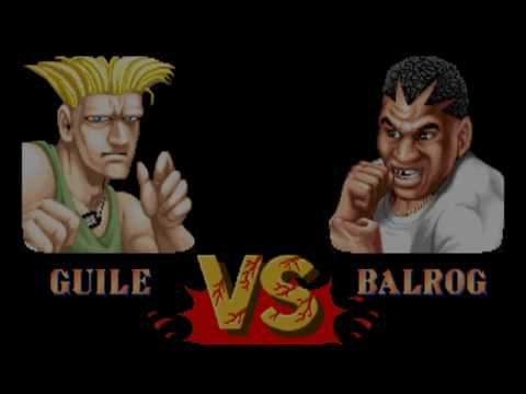 Arcade Street Fighter 2 Guile play around with handcuffs/invisible throws
