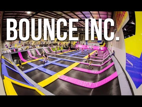 BOUNCE INC. | Trampoline park in Bangkok, Thailand