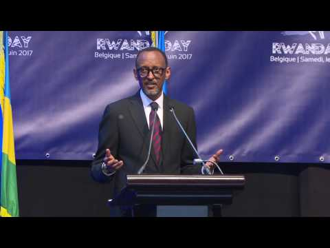 President Kagame speaks to thousands of Rwandans at Rwanda Day in Brussels, 10 June 2017 (Part 1/2)