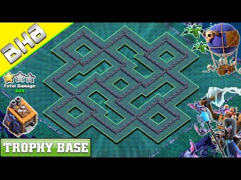NEW Builder Hall 8 BASE LAYOUT 2019 | CLASH OF CLANS