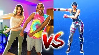 FORTNITE DANCE CHALLENGE  (In Real Life)