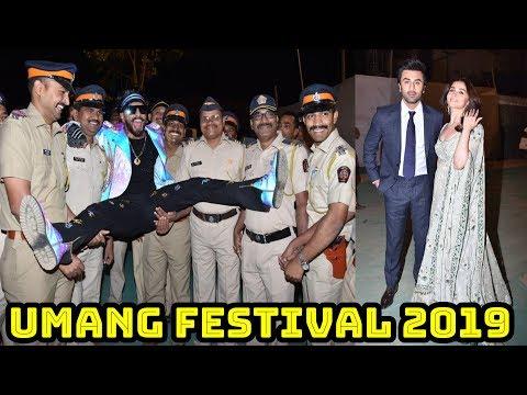Bollywood Super Stars Attend Mumbai Police Umang Festival 2019 Live