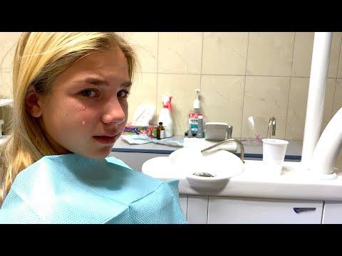 СЛЁЗЫ капают или Последний молочный зуб