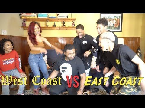 *SUPER LIT* 🔥 WEST COAST VS EAST COAST PLAYLIST!!!