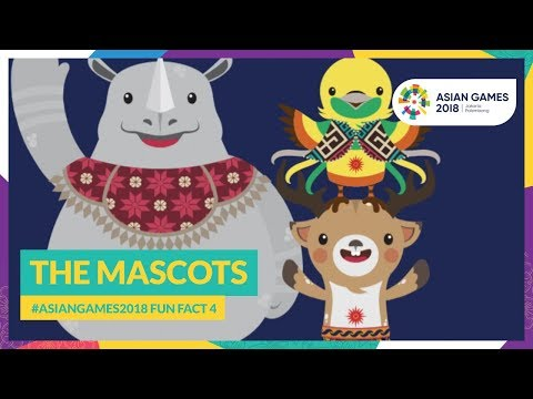 #AsianGames2018 Fun Fact 4 - The Mascots