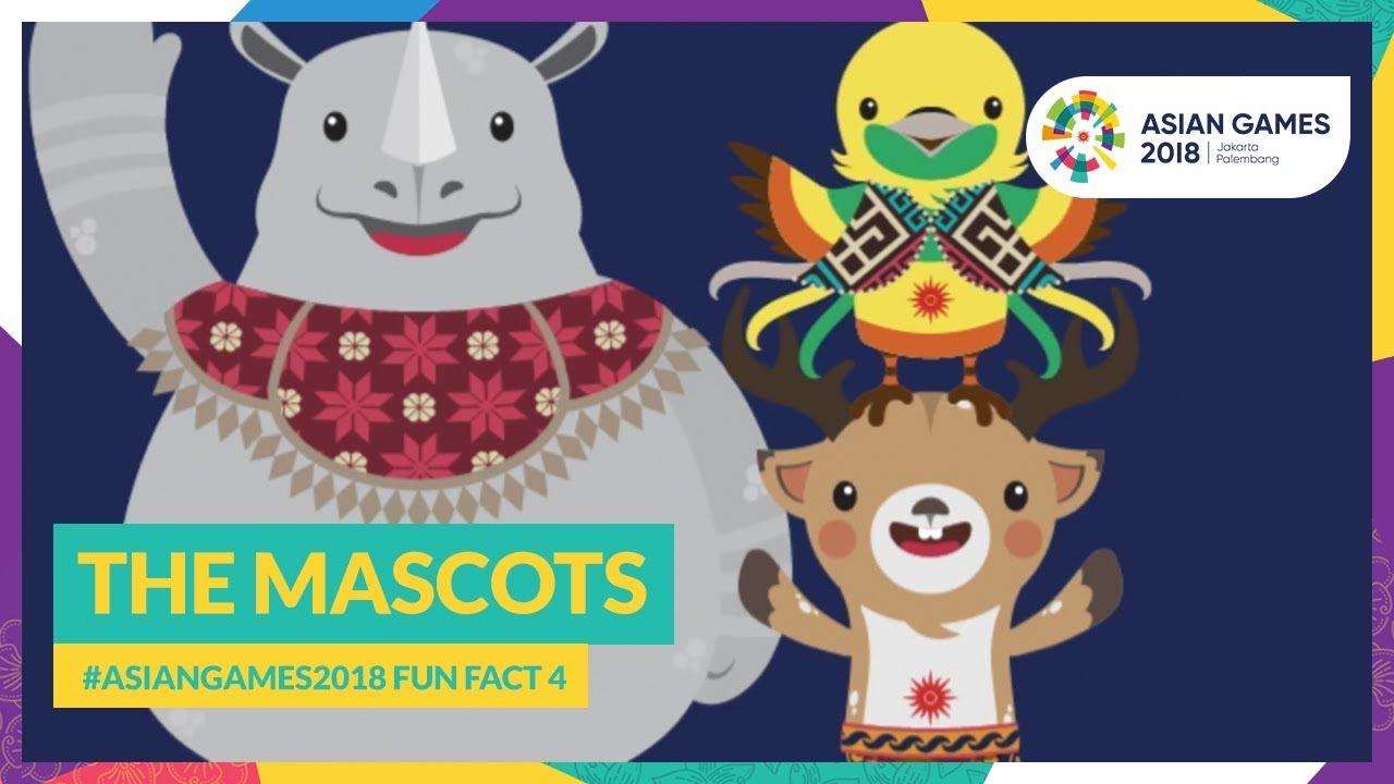 Seputar Maskot Maskot Asian Games Bagian II – Habis Historia