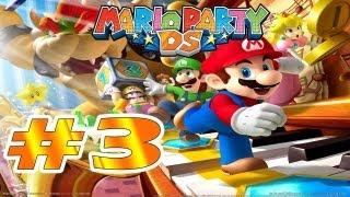 """DS   Mario Party DS Parte 3 """"La estatua de DK y Huesitos"""" Comentando"""