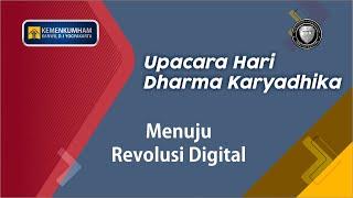 Upacara Hari Dharma Karyadhika Tahun 2019