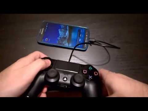 Use PS4 controller on Android without rooting. Micro USB to Micro USB OTG wire.