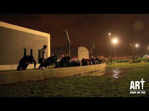Algiers run team - Training session Sablettes