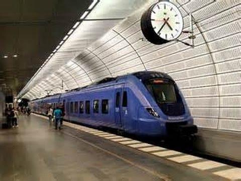 Stockholm Subway - Tunnelbana (T-Bana)